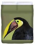 A Bird For His Bill.. Duvet Cover
