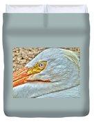 A Bird's Eye View Duvet Cover by Michael Garyet