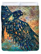 A Bird's Eye View Duvet Cover by Wbk