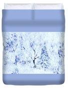 A Blanket Of Snow Duvet Cover