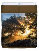 A Blast Of Sunrise Duvet Cover