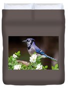 A Bluejay Bouquet Duvet Cover