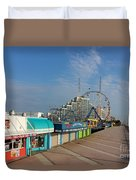 A Boardwalk Duvet Cover