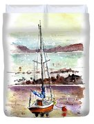 A Boat On Anglesey 01 Duvet Cover