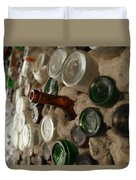 A Bottle In The Wall Duvet Cover