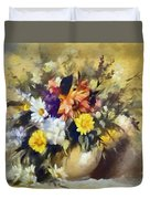 A Bouquet For Elizabeth Duvet Cover