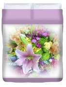 A Bouquet For My Love 46 Duvet Cover