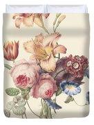 A Bouquet, Henriette Geertruida Knip, Ca. 1820 Duvet Cover