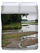 A Braided River Duvet Cover