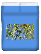 A Branch Standing Out From The Crowd Duvet Cover