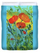 A Breath Of Spring Duvet Cover
