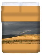 A Brewing Storm Duvet Cover
