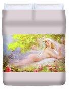 A Brides Fantasy Duvet Cover