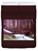 A Bridge To Paradise Duvet Cover