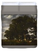 A Bright Day 1840 Duvet Cover