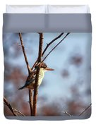 A Brown-hooded Kingfisher  Duvet Cover
