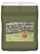 A Bucket Full Of Ocean Duvet Cover