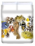 A Bunch Of Colorful Fish No 05 Duvet Cover