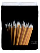 A Bunch Of Pencils Duvet Cover