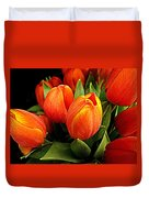 A Bunch Of Tulips Duvet Cover