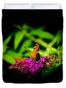 A Butterflies World  Duvet Cover