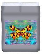 A Butterfly For 2006 Duvet Cover