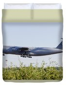 A C-5a Galaxy Of The U.s. Air Force Duvet Cover