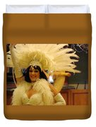 People Series - A C Showgirl Duvet Cover
