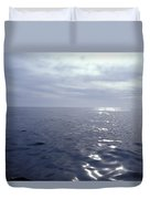 A Calm Ocean With Small Ripples Duvet Cover