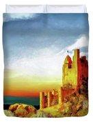 A Castle In Spain Duvet Cover