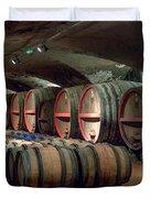 A Cellar Of Burgundy Duvet Cover