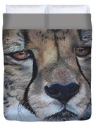 A Cheetah Duvet Cover