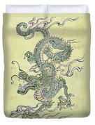 A Chinese Dragon Duvet Cover