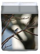 A Chipping Sparrow Duvet Cover