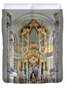 A Church Filled With Music - Church Of Our Lady Dresden Duvet Cover