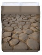 A Cobblestone Road In Rome Duvet Cover