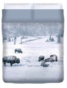 A Cold Winter's Day Duvet Cover