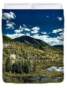 A Colorado Autumn Duvet Cover