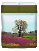 A Colorful Field Duvet Cover