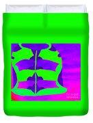 A Colourful  Vase Duvet Cover