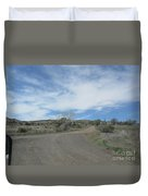 A Concho Ranch Duvet Cover