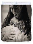 A Confortadora - Work By Patricia Piccnini Duvet Cover
