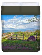 A Costa Rica View Duvet Cover
