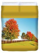 A Country Autumn Duvet Cover