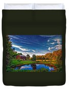 A Country Place Painted Version Duvet Cover