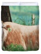 A Cow's Tale - Lazy Day Duvet Cover
