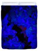 A Dark Blue Crash Duvet Cover