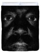 A Dark Proud Man Duvet Cover