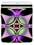A Dark Splash Of Color 41 Duvet Cover
