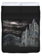 A Dark Strange Night  Duvet Cover